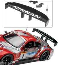 New Scalextric W9303 Nissan 350Z Rear Wing Spoiler, Mirrors & Aerial (C2721)