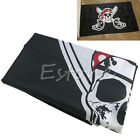 Pirate with Bandana 90*150cm Feet Flag Skull and Crossbones Jolly Roger