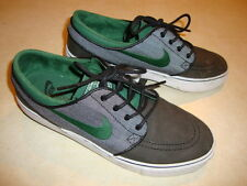 Nike Zoom Air Stefan Janoski green and black skateboard shoes men's 7.5 US/ 40.5