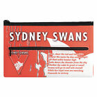 QUALITY LARGE AFL Sydney Swans Pencil Case for School Work stationary