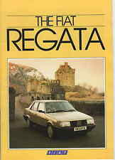 FIAT REGATA BROCHURE AND PRESS RELEASE IN PRESS PACK 1985    *POST FREE UK