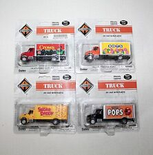 Boley Die Cast 1:87 Scale Set Of 4 International Delivery Truck Tootsie Roll IOP