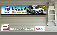 Talbot Lotus Sunbeam Banner for Workshop, Garage, Pit Lane, Hill Climb, Rally