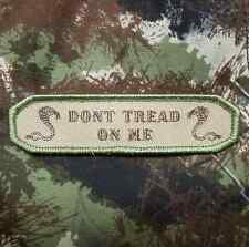 DON'T TREAD ON ME TWIN COBRA MILITARY MULTICAM VELCRO® BRAND FASTENER PATCH
