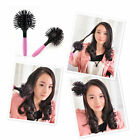 New Hair Brush Ball Style Blow Drying Salon Heat Resistant Comb