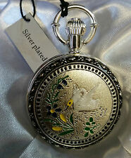 Antique Vintage Retro Style Quartz Pocket Watch Mens - Pendant Without Chain #14