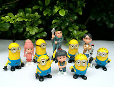 Lot of 10 Despicable Me 2 Minion Tim Gru Agnes Edith Margo Thinkway