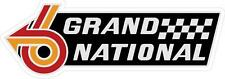 "#797 (1) 6.25"" Buick Grand National Decal Sticker Laminated GN GNX Turbo GM"