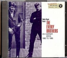 THE EVERLY BROTHERS - WALK RIGHT BACK  ON WARNER BROS 1960/1969  2 CD 1993  USA