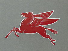 "Mobil Pegasus 18"" x11"" Wood Wall Sign Garage Man Cave"