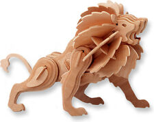 """3-D Wooden Puzzle - Lion - Gift Item """"Brand New"""""""
