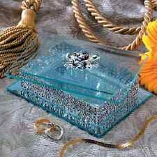 Jewellery Box Silver Plated And Bevelled Glass By Studio Silversmith - Small