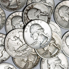 $1 Face Value - 90% Silver U.S. Coins - Washington Quarters