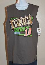 Chase Authentics Danica Patrick #10 Go Daddy Unisex Muscle Tank Heather Gray MED