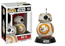 Funko Pop Star Wars Toy Action Figures BB-8 Droid Ep7 Bobble Head 3.75 Inch NEW