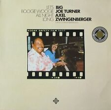 Big Joe Turner & Axel Zwingenberger - Let's Boogie Woogie All Night Long (LP)