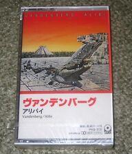 Vandenberg JAPAN PROMO CASSETTE TAPE - SEALED - hard rock ALIBI Whitesnake