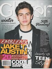 GLITTER MAGAZINE FOR GIRLS WHO ROCK! Winter 2013, Emblem3 JAKE T. AUSTIN.