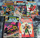 BRITISH MARVEL Marvel Premiere Collection! 5 books !G-VG! Black Panther! Falcon!