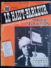 Le haut parleur # 1001 1958 Téléviseur écran plat radio TV télécommande train