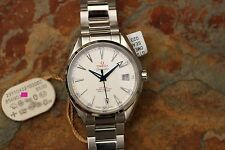 Brand New Omega Aqua Terra 41.5mm Red-White-Blue Dial 231.10.42.21.02.002