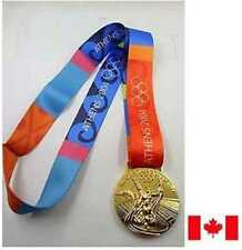 2004 Athens  Olympic 'Gold' Medal with Silk Ribbon