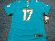 NWT NIKE NFL ON FIELD MIAMI DOLPHINS RYAN TANNEHILL GREEN JERSEY SIZE GIRLS L