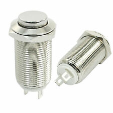 12mm High head Metal Latching push Button Switch Threaded SPST ON/OFF