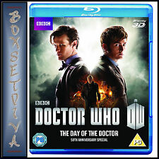 DOCTOR WHO - DAY OF THE DOCTOR - 50TH ANNIVERSARY SPECIAL *BRAND NEW BLU-RAY ***