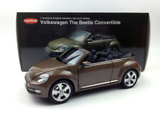 Kyosho 1:18 Volkswagen The Beetle Convertible Toffee Brown Diecast metal model