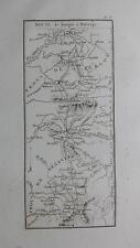1831 DE LABORDE Mapa Ruta Route de Burgos a Buitrago (Mappa Map España Camino)