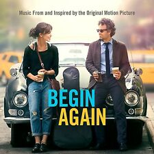 BEGIN AGAIN ( NEW SEALED CD ) FILM SOUNDTRACK ( KEIRA KNIGHTLEY / ADAM LEVINE )