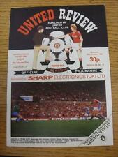 23/10/1982 Manchester United v Manchester City  (Creased)