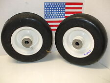 Walker Mower (2)  Flat FREE Tire Deck Wheel's
