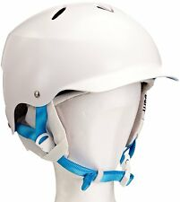 Bern Unlimited Womens White Lenox Ski Snow Helmet with White Liner (Small)