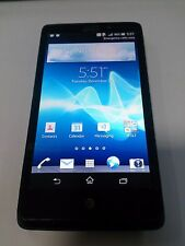 Sony Xperia LT30AT 16GB - Black (AT&T) CLEAN IMEI - GOOD LCD - POWERS UP - READ