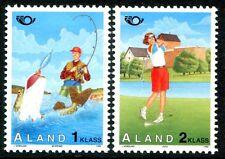 Aland Island Stamps Scott #116; 117 Tourism 1995 MLH