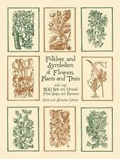 Dover Pictorial Archive: Folklore and Symbolism of Flowers, Plants and Trees : W