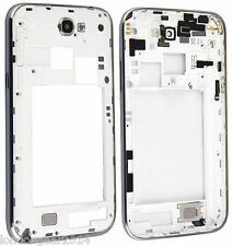 Genuine Samsung Galaxy Note 2,N7100 Housing Cover Middle Chasis Frame Case White