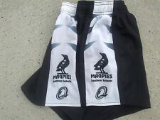Southern Suburbs Magpies QRL player issue rugby league shorts