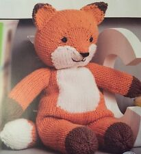 Knitting Pattern For Fantastic Mr Fox Toy - Children's Toy