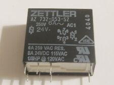 AZ 732-053-52  Relay Zettler 24V 6A/250V     1pcs