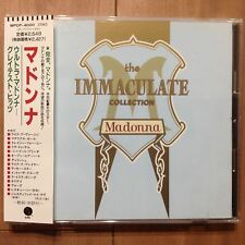 Madonna The Immaculate Collection CD Japan Obi WPCP-4000 1990 17tracks