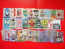 CALCIATORI PANINI 2000-2001 - Set Completo 83 SCUDETTI-BADGES Stickers-New