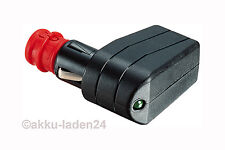 Universal Angle plug DIN 4165 Board connector 12v-24V 7,5A with LED Display