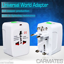 All in One Universal World Travel Power Charger AC Adaptor Plug AU UK USA EU OZ