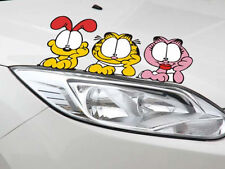 Fun car decal/sticker of Garfield for Car/ Truck / Window (light reflection)