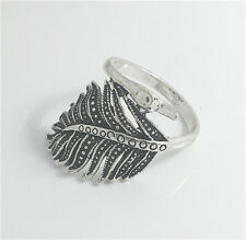 Vintage Woman 316L Stainless Steel Vogue Design Mini Peacock Ring Size 10  NEW