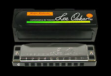 BRAND NEW LEE OSKAR 1910D DIATONIC HARMONICA w CASE BLUES / FOLK HARP KEY OF D