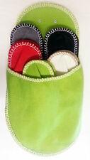 Gästepantoffel 5 pares invitados zapatillas de casa zapatos pantufla set invitados zapatos de tela